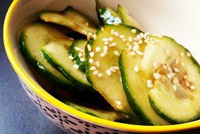 Asiatischer Gurkensalat vegan