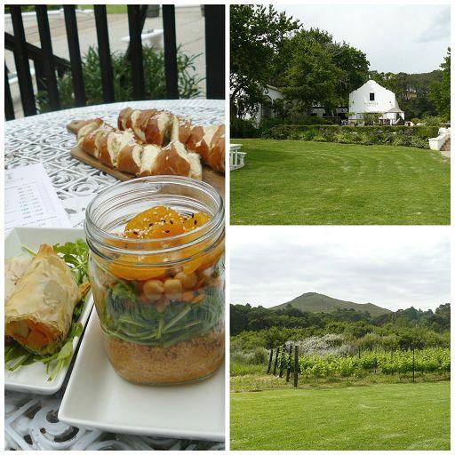 Vegane Weinverkostung Stellenbosch Südafrika