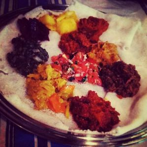 addo ethiopian meal