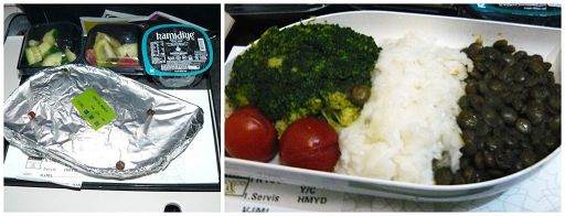 veganes Essen Turkish Airlines