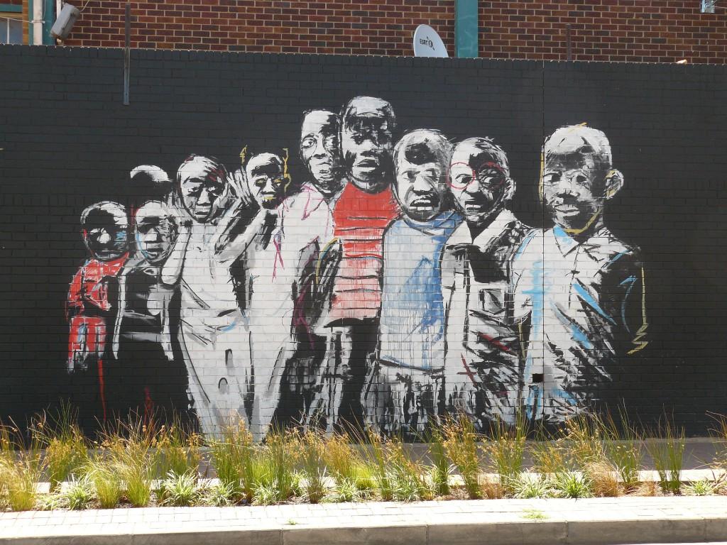 Street Art in Maboneng Johannesburg