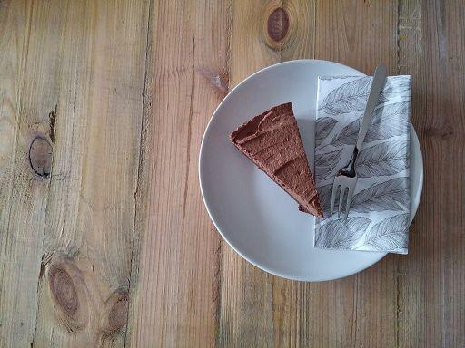 Schnittfeste Schokocreme für die Torte - ohne Gelatine!