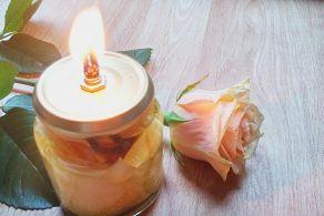 Öl Lampe Anleitung zum Nachmachen