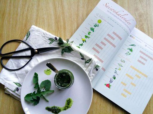 Wildkräuter und Saisonkalender