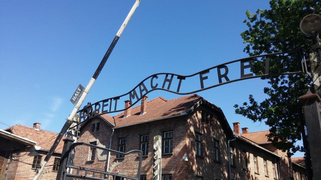 Besuch des Museums in Auschwitz
