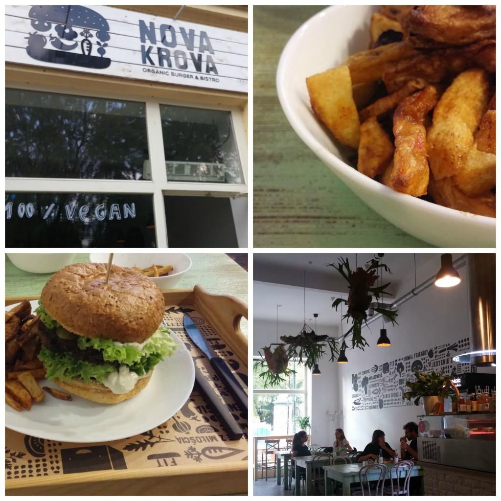 Burger Time im Nova Krova