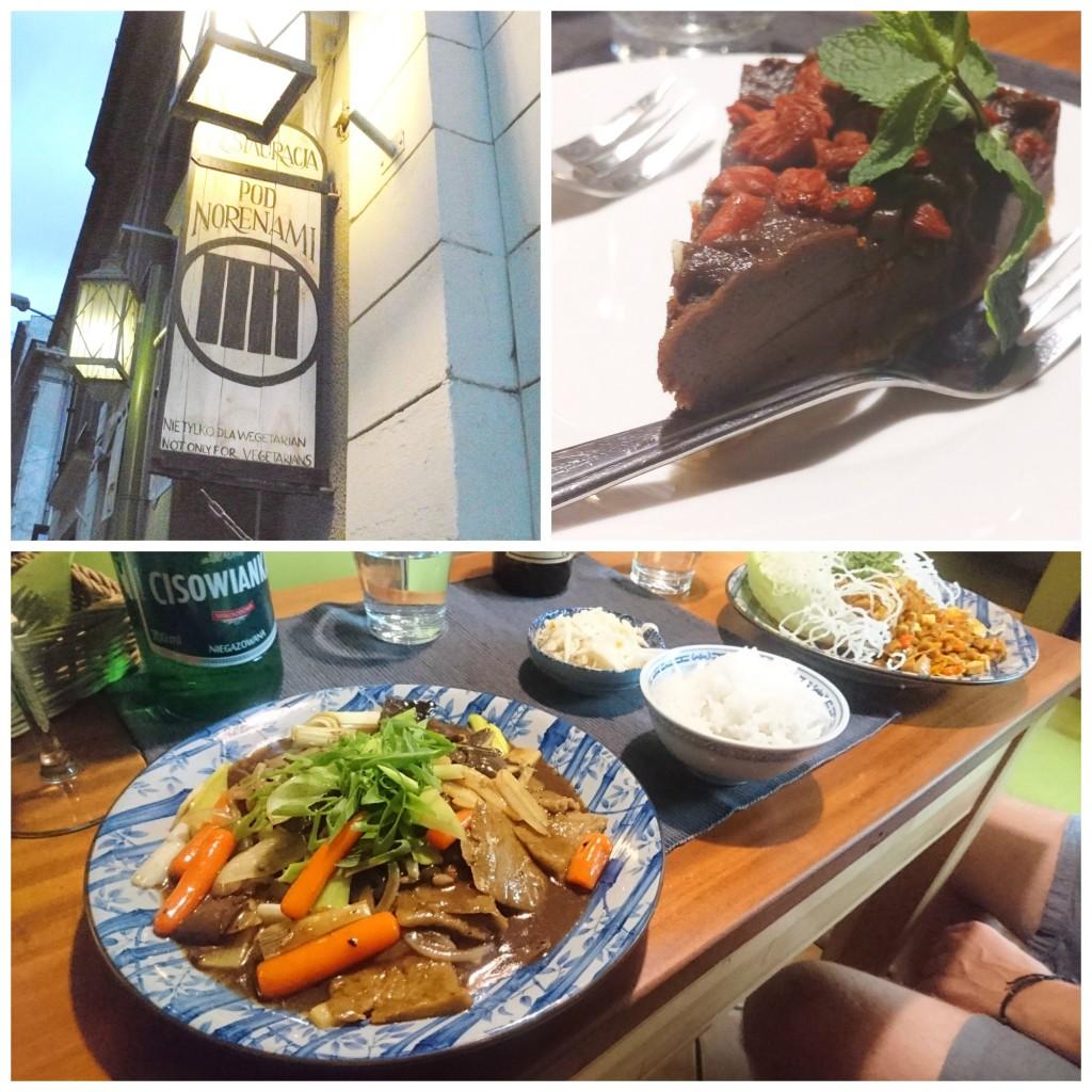 Asiatische Küche im Pod Norenami