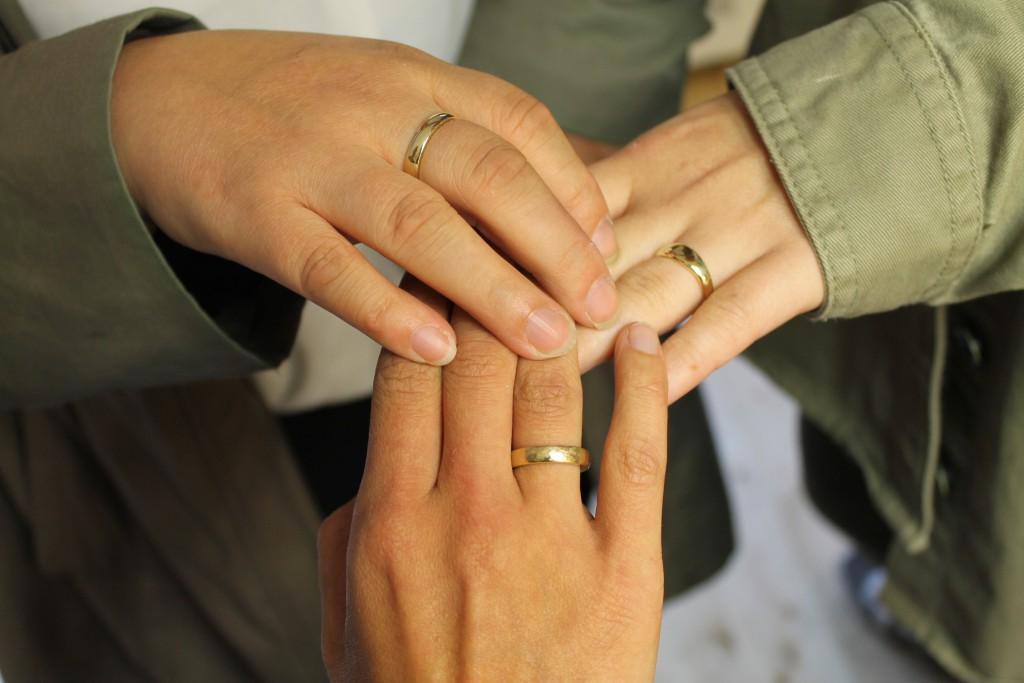 Drei Schwestern - drei Ringe